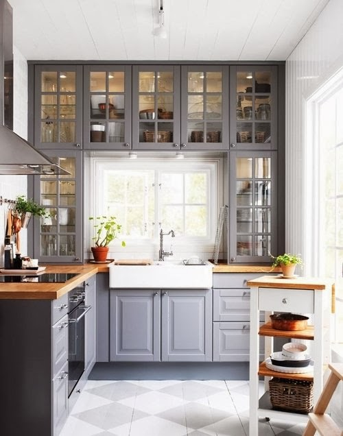 kitchen window decorating ideas