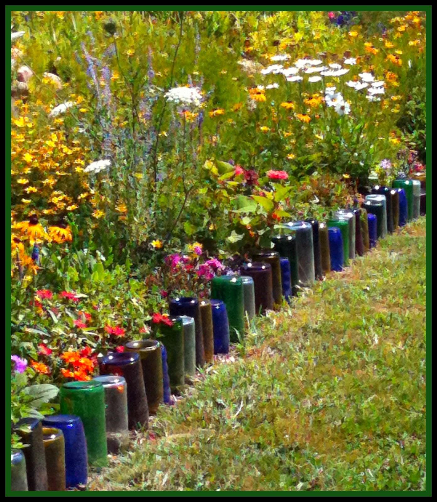 Recicla inventa ideas originales para el jard n - Ideas originales para jardines ...