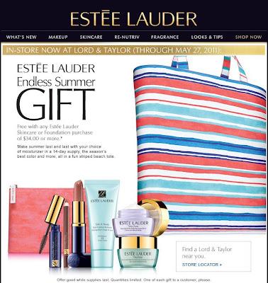 estee lauder free gift Finland