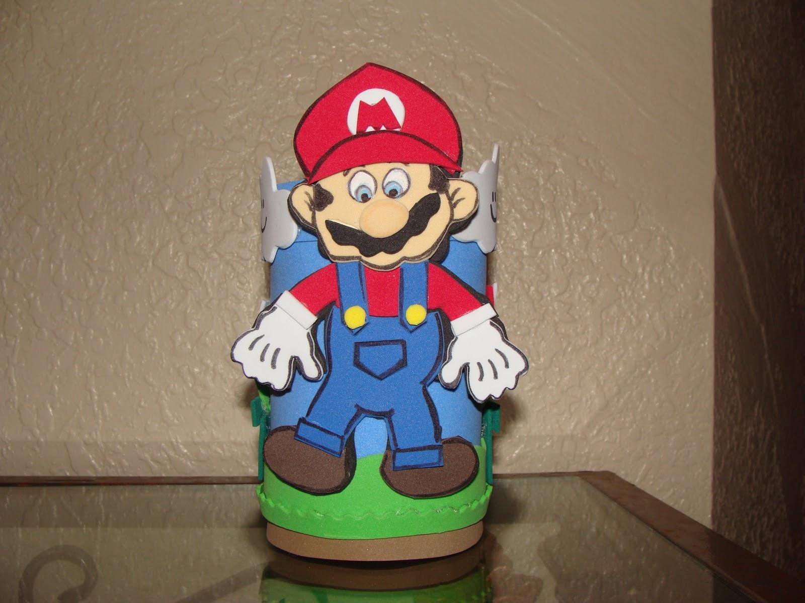 Home » Cotillones De Material Reciclable De Mario Bros