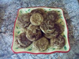 Jack's Spooky Snickerdoodle Cookies