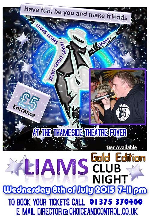 LIAM COFFEY'S GOLD EDITION CLUB NIGHT with Thurrock Lifestyle Soluytions (TLS)