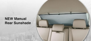 Rear Manual Sunshade