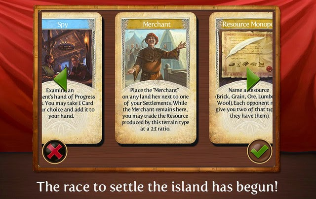 Catan android screenshot