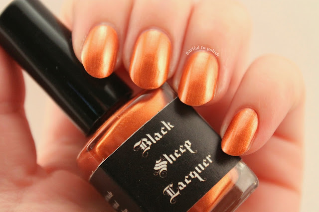 Black Sheep Lacquer Punk Rock Penny