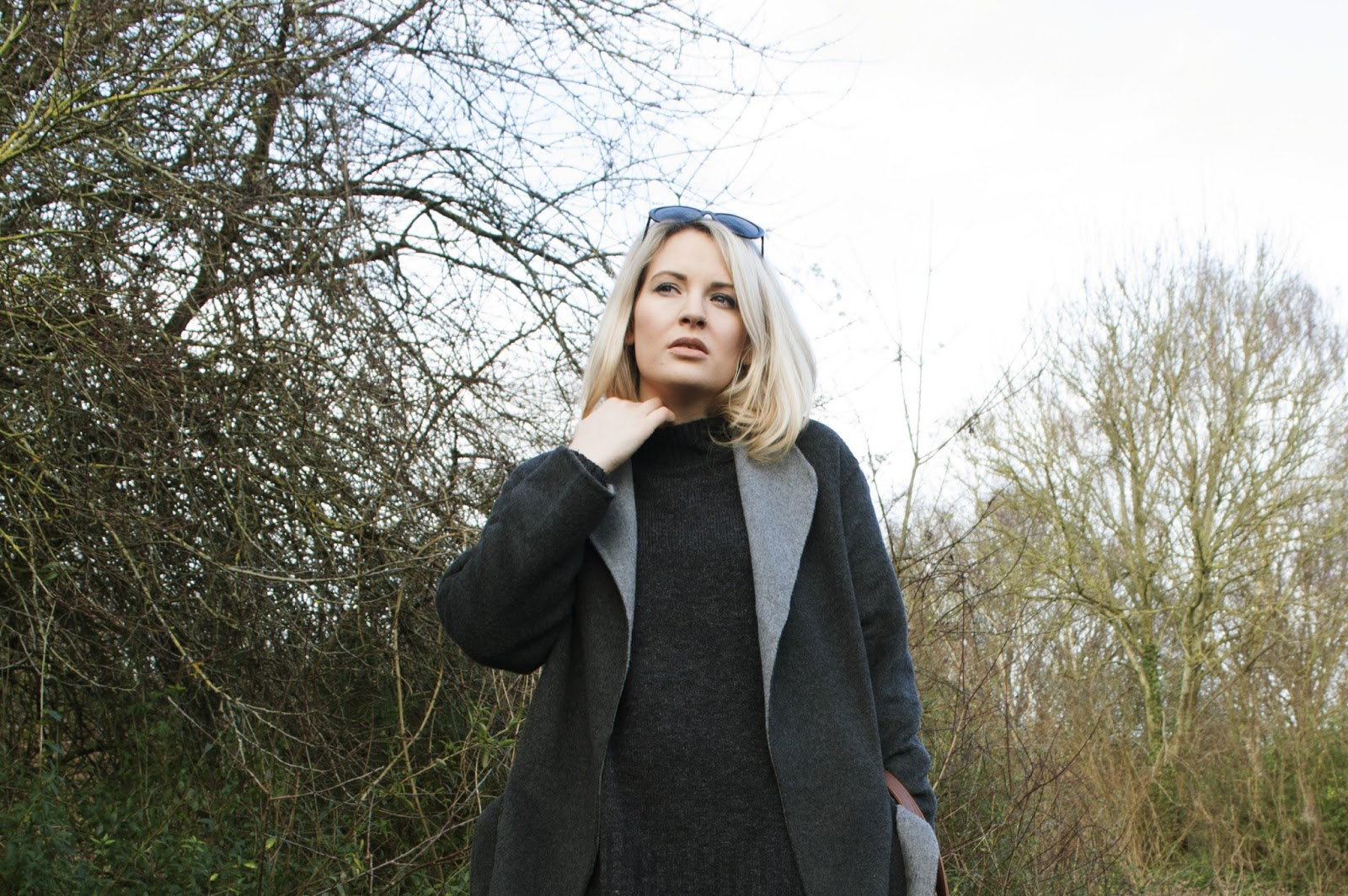 diary of a brit girl whistles coat outfit