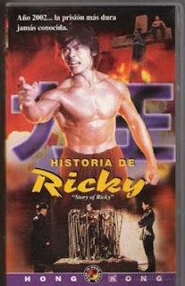 Portada película Historia de Ricky fotogramailustrado kungfu kung fu artes marciales hong kong