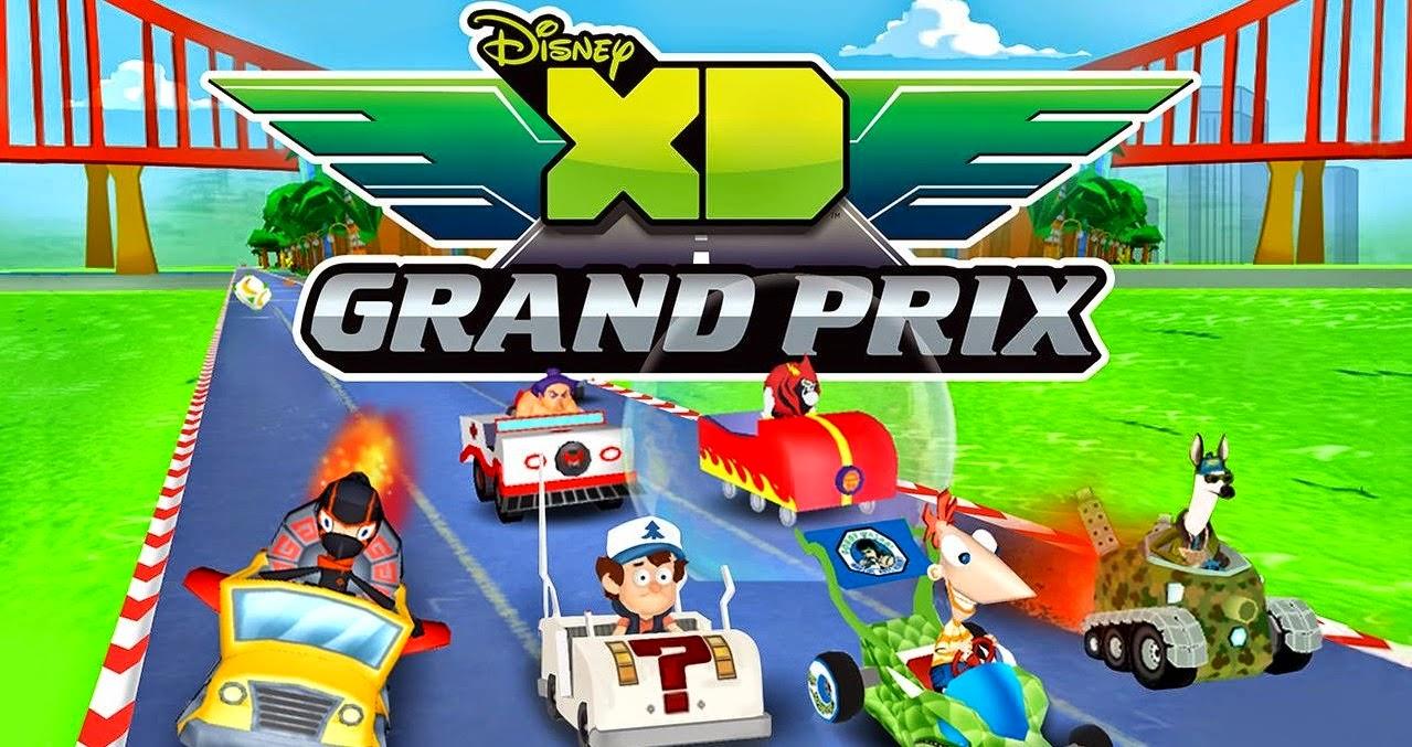 Disney XD Grand Prix v1.0 APK MOD
