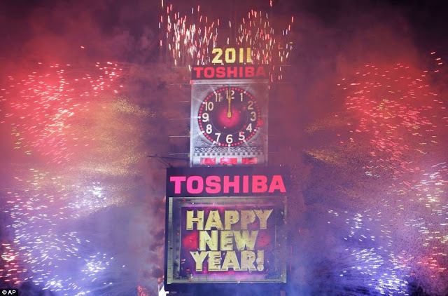 Times Square, New York, Happy New Year 2011
