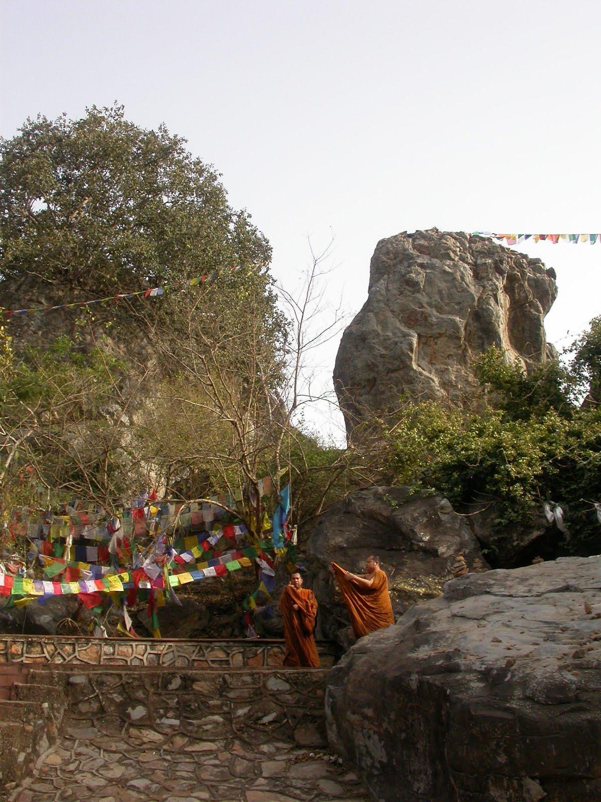 Il Picco dell'Avvoltoio a Rajgir