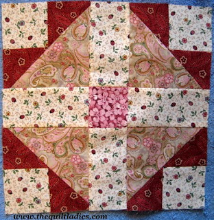 Quilt pattern tutorial from The Quilt Ladies