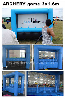 inflatable archery game ,Archery Inflatable Game,Archery Tag - Hover Ball