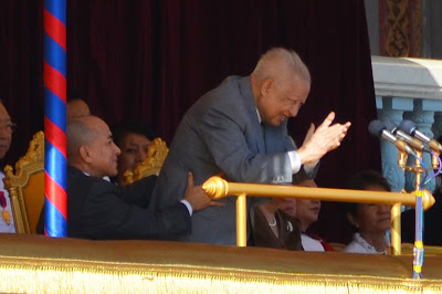 King Sihanouk of Cambodia