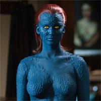 Mistica se deja ver en X-Men Dias del Futuro pasado