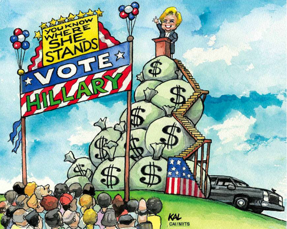Hillary Clinton and corporate money