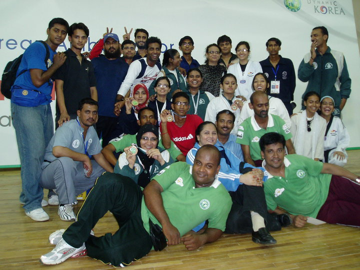 Group Pic. of Korean Ambassador Championship in 2010