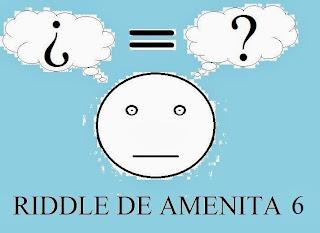Juegos de pensar Riddle de amenito 6