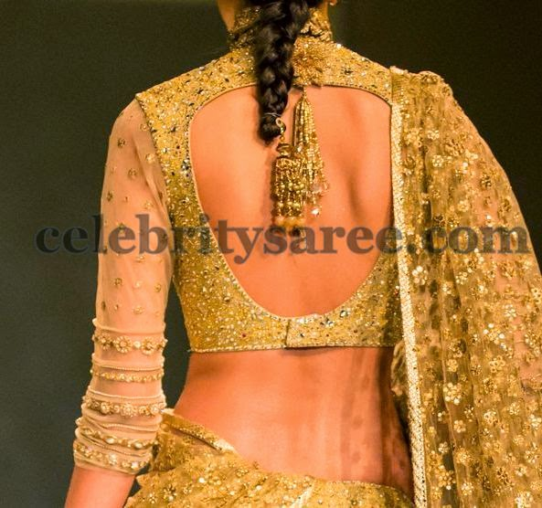 Tarun Tahiliani Grand Wedding Blouse