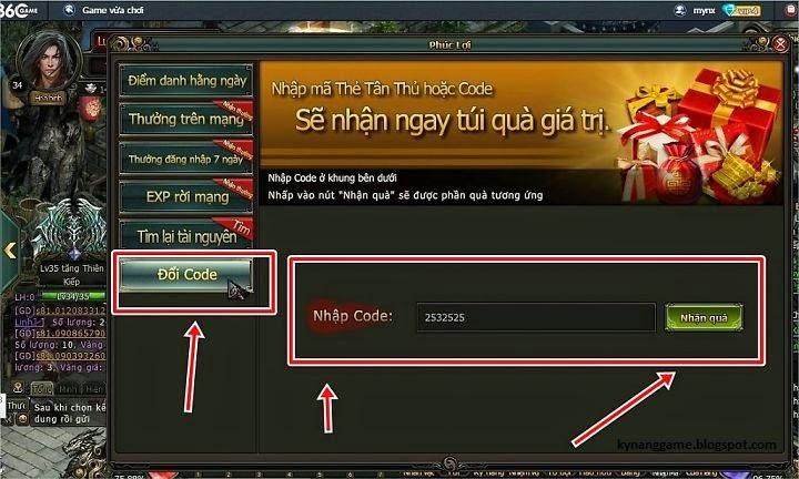 [Gift Code] Quà Tri Ân 360Game - Phong Vân
