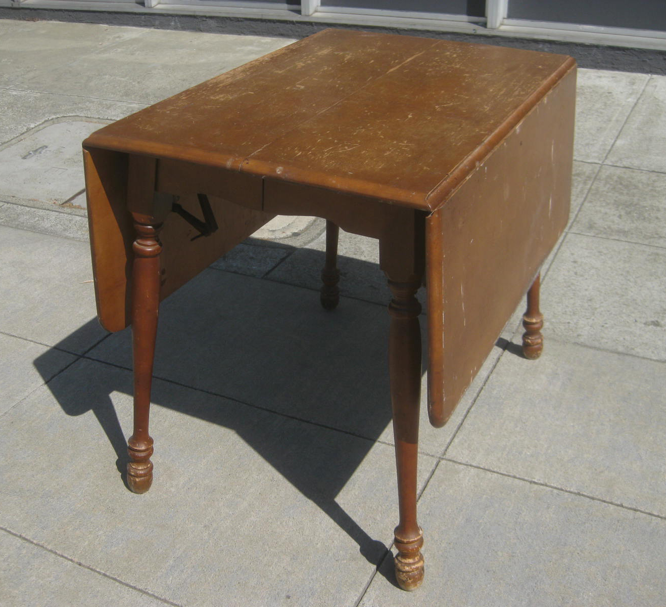 Uhuru Furniture Collectibles Sold Drop Leaf Table 60