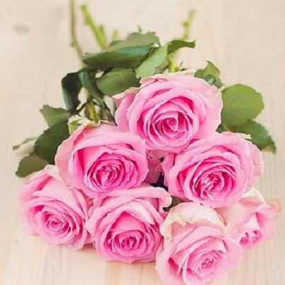 ροζ μπουκέτο