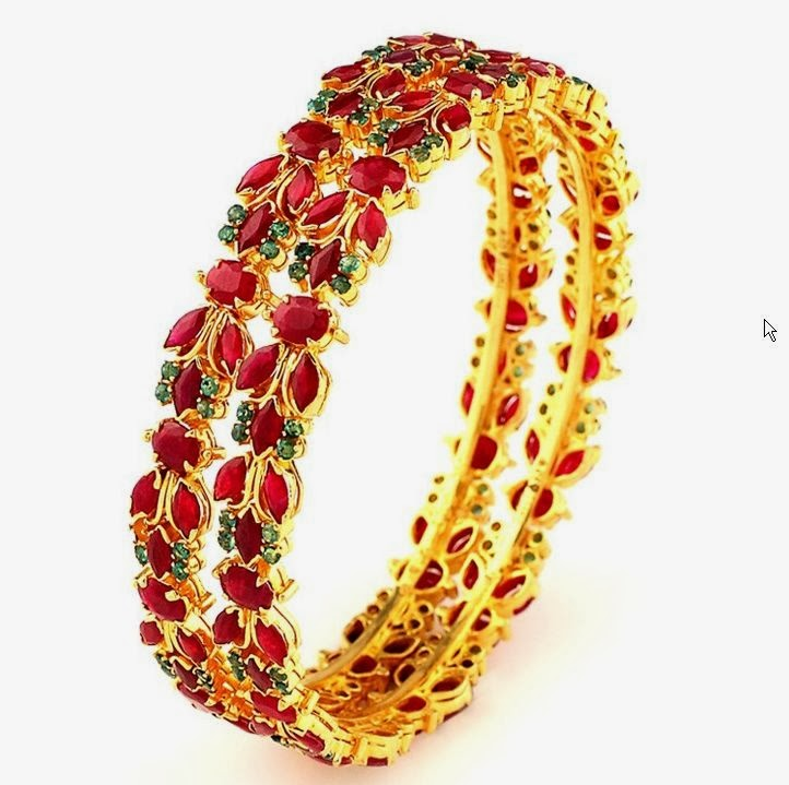 GRT Ruby Bangle Collections
