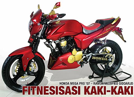 Honda Mega Pro '07 : Fitnesisasi Kaki