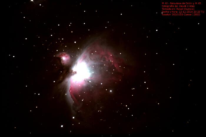 Gran Nebulosa de Orión M 42 / NGC 1976 - El cielo de Rasal