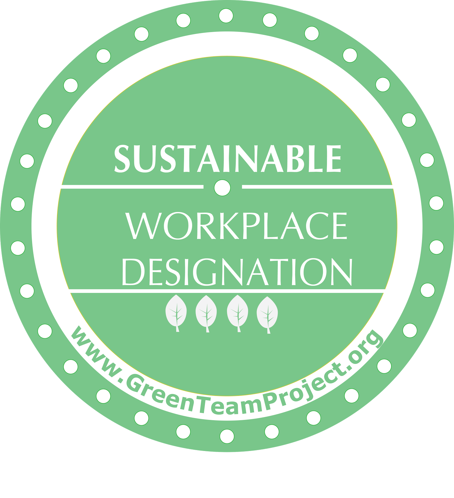 Sustainable Workplace Designation Seal