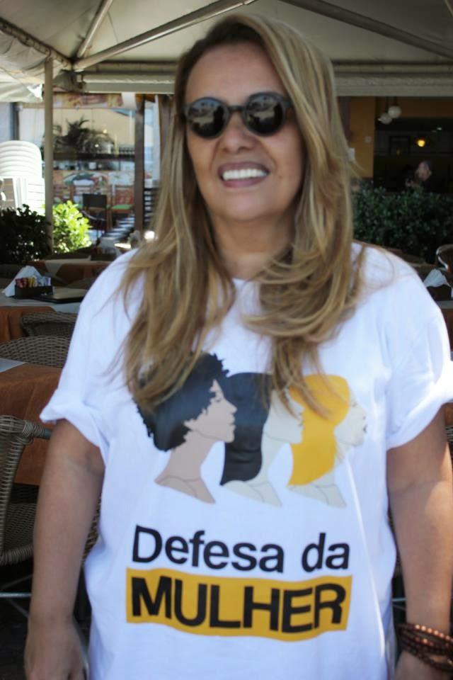 Jô Ramos fundadora do Movimento Defesa da Mulher