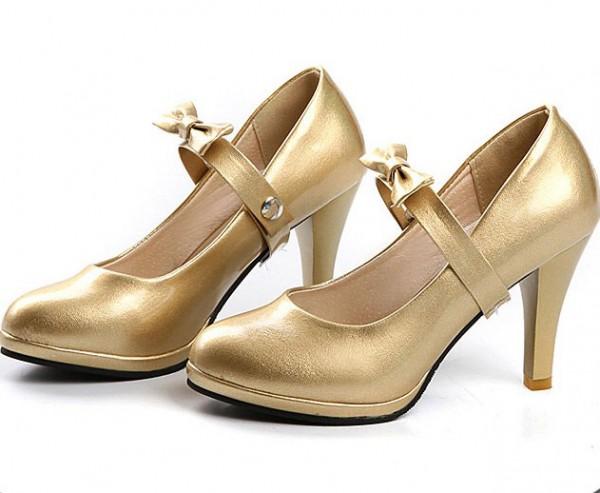 Goldhighheel - Gold High Heels