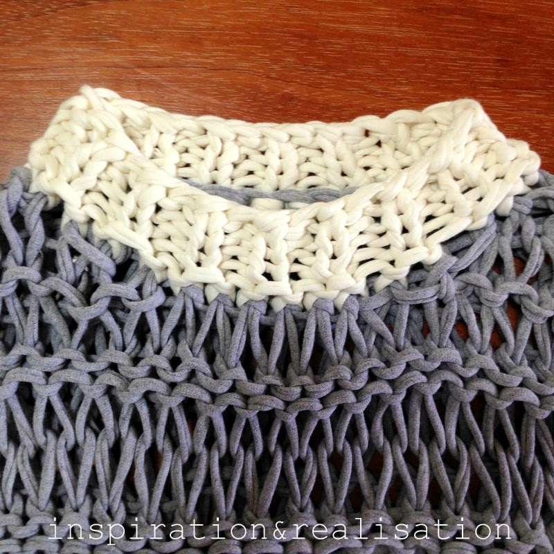 Crochet Patterns For T Shirt Yarn : inspiration and realisation: DIY fashion blog: DIY open ...