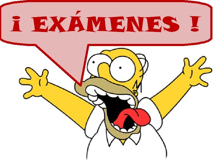 Próximos exámenes