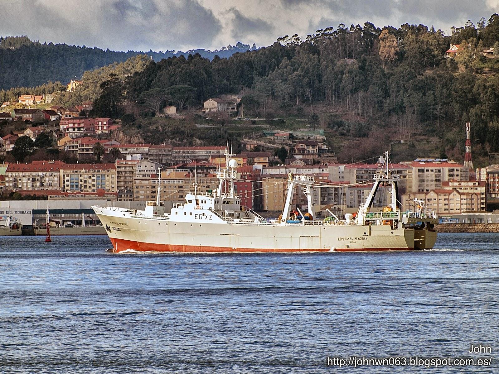fotos de barcos, imagenes de barcos, esperanza menduiña, hermanos gandón, cangas, vigo