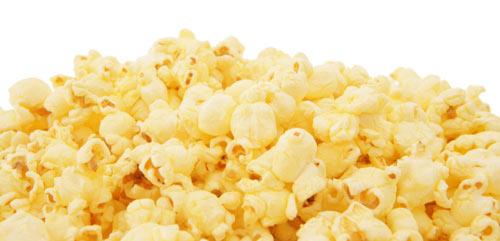 Popcorn on a boat