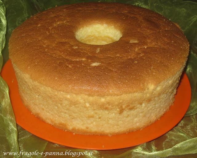 Ciambella americana o Chiffon cake