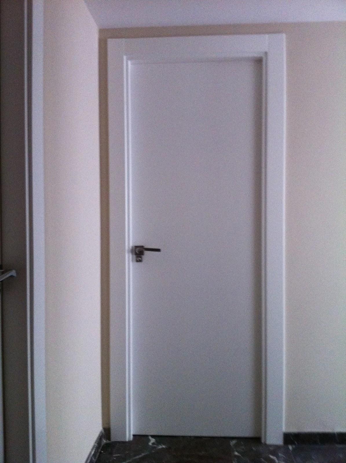 Puertas de paso interior lacadas en blanco carpymon c b for Puertas de paso ikea