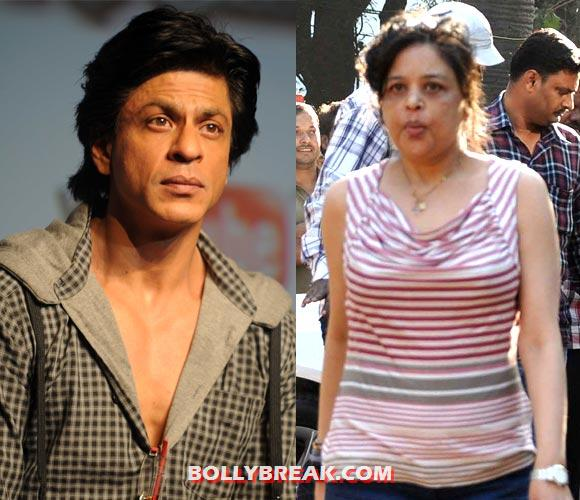 Shahrukh khan and sister - (3) - Bollywood stars and their siblings