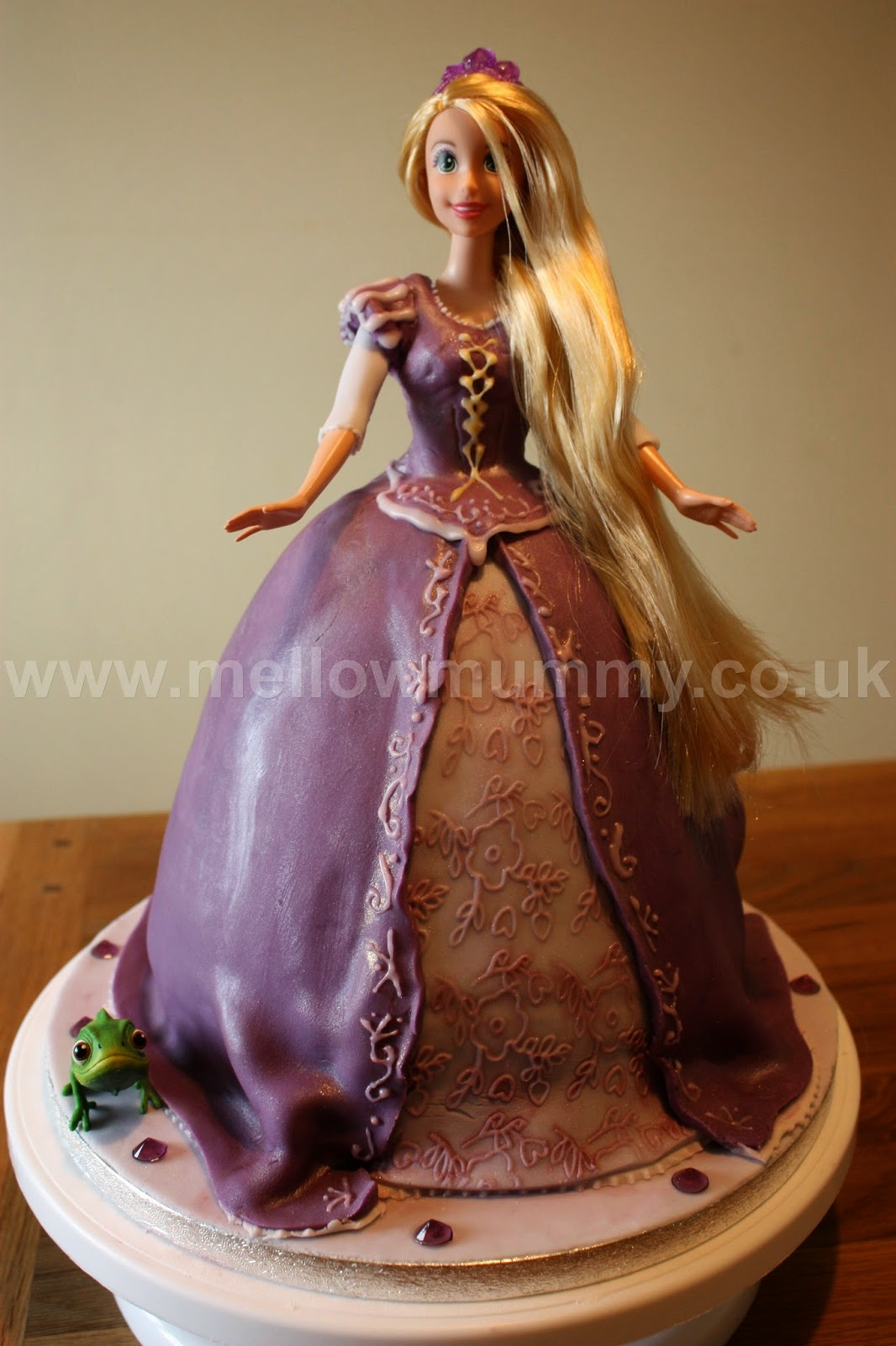 Disney Tangled Rapunzel Birthday Cake