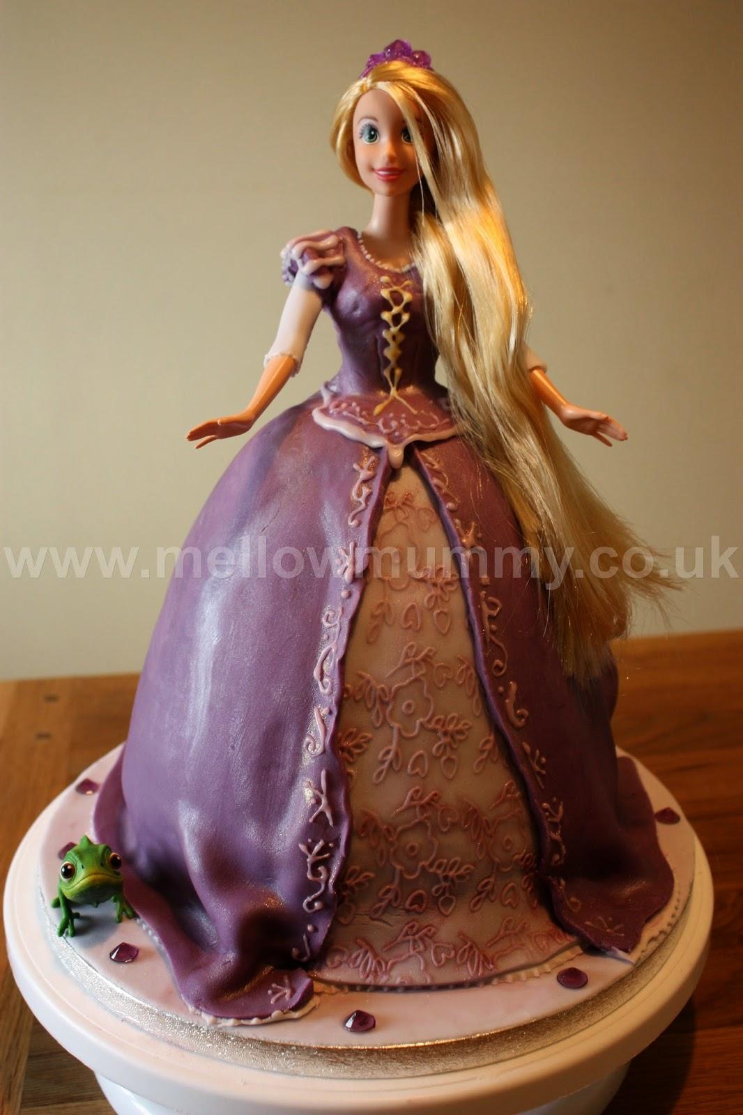 Disney Tangled Rapunzel Birthday Cake