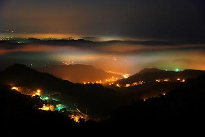 Ciudades conquistadas por la niebla - Juifan Town, Taiwan