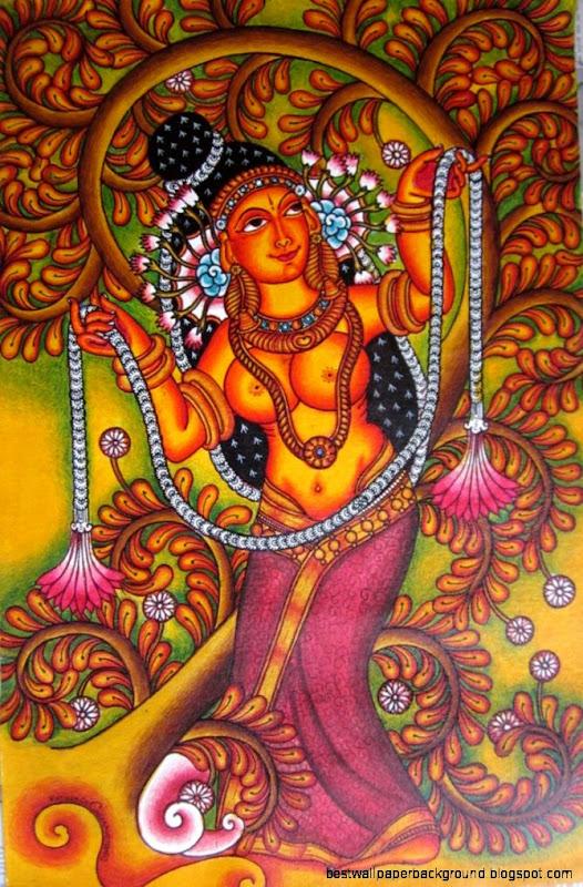 kerala mural on Pinterest  Kerala Murals and Indian Paintings