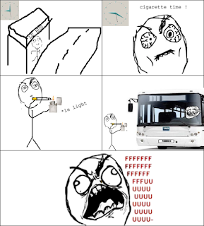 rage comics cigarette time bus ffffuuuu fffuuu, rage comics, fffffuuuuu, ffffuuuu, fffuuu, rage comics cigarette time, rage comics bus, trollface, trollface bus driver, rage comics waiting for bus