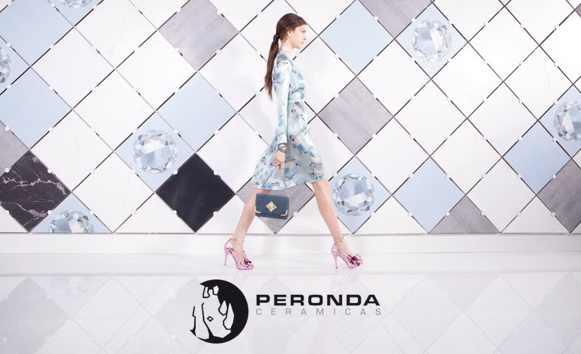 Peronda Cerámicas, ceramics inspired on Art & Fashion