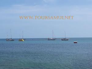 The Sea From  Koh Samui