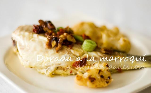 deliciosidades - dorada a la marroquí