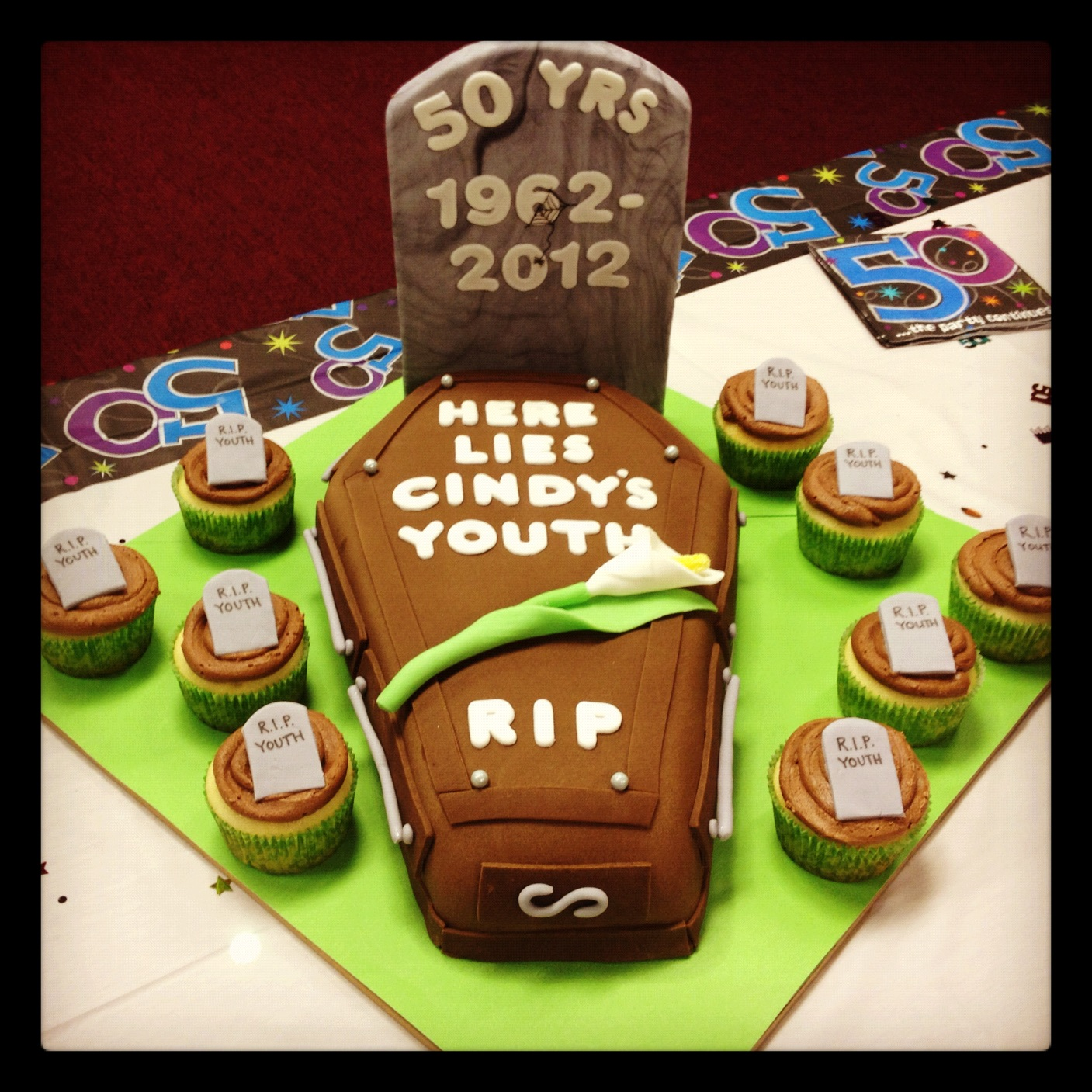 Funny 50th Birthday Cakes