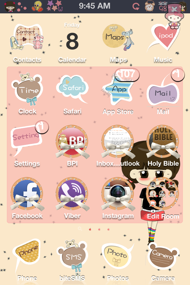 cute iphone themes crazy - photo #1
