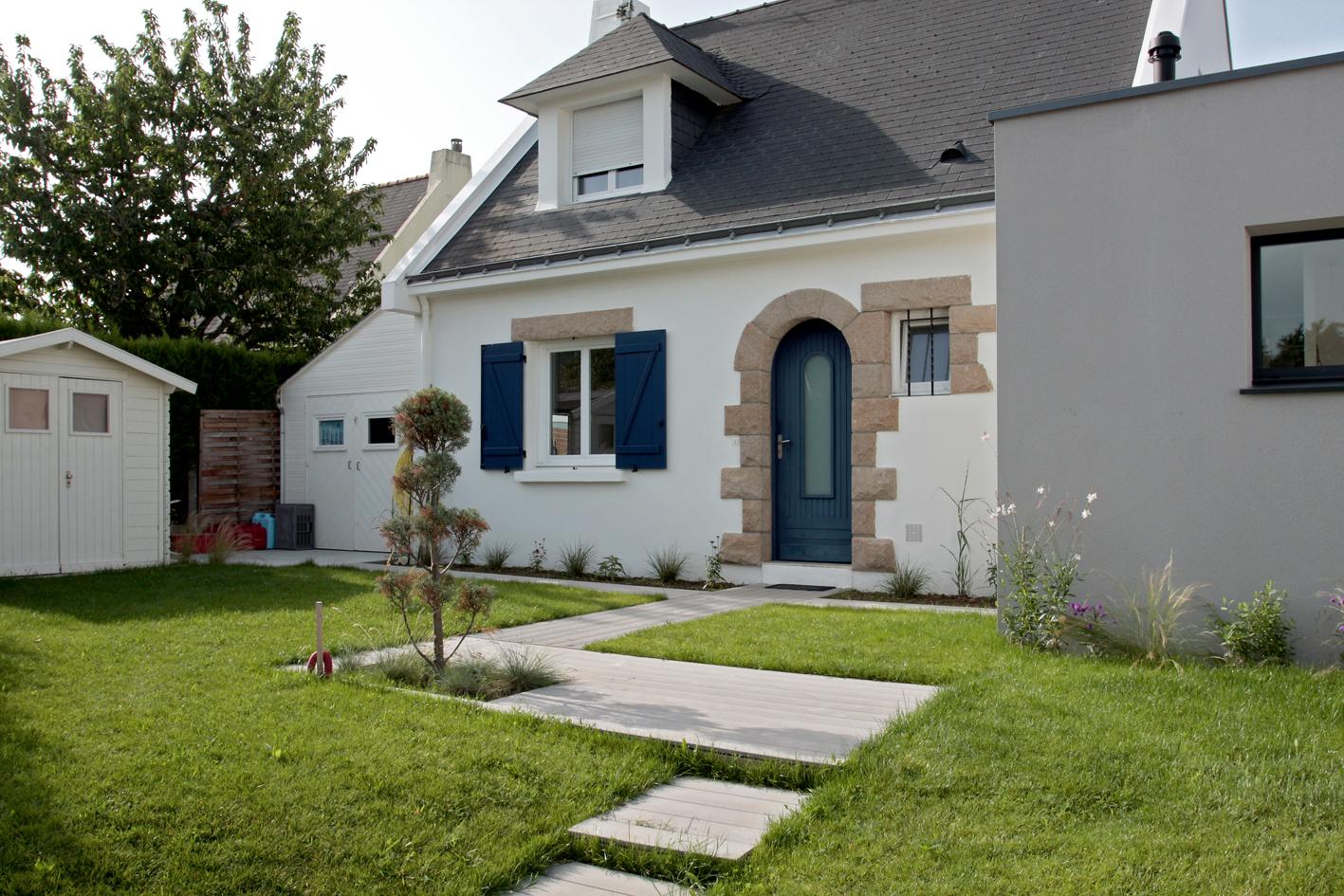 b n dicte mottais r alisation jardin moderne orvault. Black Bedroom Furniture Sets. Home Design Ideas