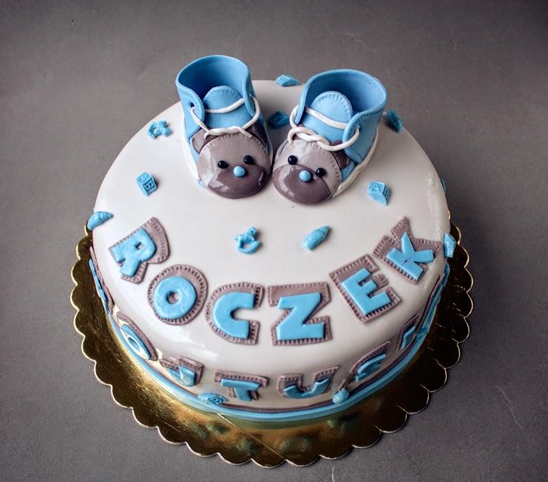 Tort urodzinowy roczek z bucikami, Lublin